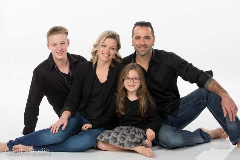 Photo de famille en studio Chambly