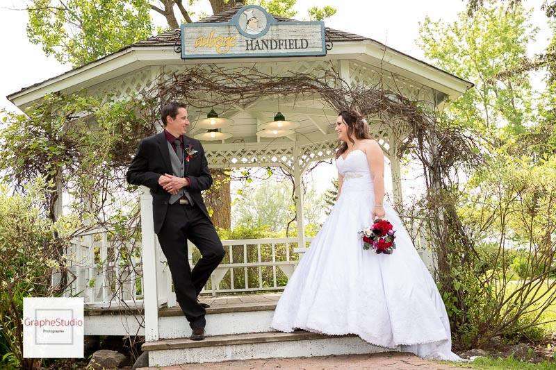 Photo du mariage PP à l'Auberge Handfield